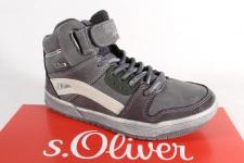 S.Oliver Knaben Tex Stiefel Stiefeletten Boots grau 45302 NEU!