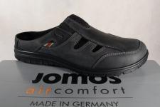 Jomos Herren Clogs Sabot 423310 schwarz Leder für lose Einlagen geeignet Neu!