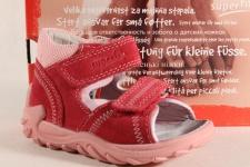 Superfit Mädchen Lauflern Sandale Sandalette Echtleder pink 00035 Neu