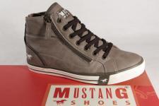 Mustang Jungen Stiefel Stiefeletten Boots Winterstiefel pfeffer 1209 NEU