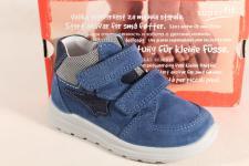 Superfit Jungen LL-Stiefel blau Lederfußbett 00325 Neu !!!