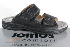 Jomos Herren Pantoletten Clogs Echtleder schwarz Lederinnensohle 503601 Neu!