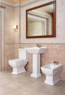 waschbecken keramik retro inkl s ule stand wc retro komplett retro bidet kaufen bei. Black Bedroom Furniture Sets. Home Design Ideas