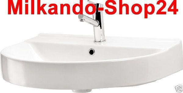 design wand h nge waschbecken ecom 70 f r wand montage kaufen bei milkando shop24. Black Bedroom Furniture Sets. Home Design Ideas