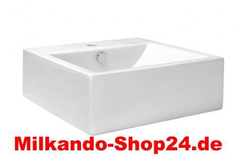 Keramik Aufsatzwaschbecken Waschbecken Waschtisch Waschschale - Vorschau 1