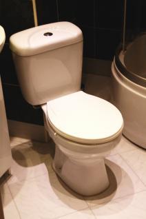 Wc Toilette Stand komplett set mit Spülkasten KERAMIK NEU Ware kombination - Vorschau 2