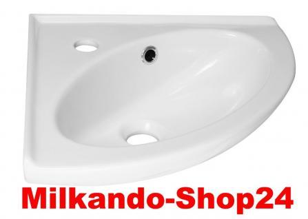 sp lstein eck waschbecken waschtisch keramik wand montage kaufen bei milkando shop24. Black Bedroom Furniture Sets. Home Design Ideas