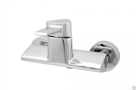 Design Wannenfüller Bad Badezimmer Wasserhahn Chrom Badewanne Armatur VE04 - Vorschau 3