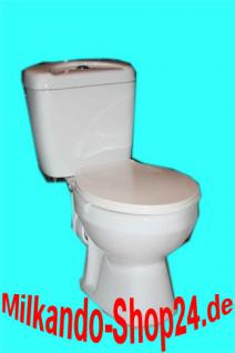 Wc Toilette Stand komplett set mit Spülkasten KERAMIK