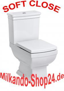 Nostalgie Retro Classic Wc Toilette Stand komplett set mit Spülkasten KERAMIK!!!