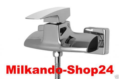 Design Wannenfüller Bad Badezimmer Wasserhahn Chrom Badewanne Armatur ON33