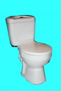 Wc Toilette Stand komplett set mit Spülkasten KERAMIK NEU Ware kombination - Vorschau 4
