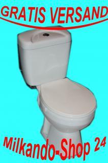 Wc Toilette Stand komplett set mit Spülkasten Komplett Aus Keramik inkl.Wc Sitz