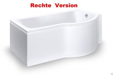 badewanne 150cm inkl front und seitensch rze badewannen duschwand mit wanne kaufen bei. Black Bedroom Furniture Sets. Home Design Ideas