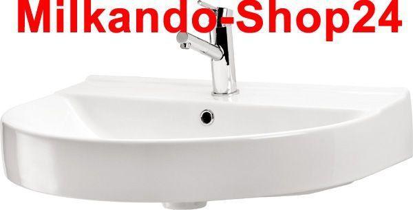 Hänge Waschbecken Keramik + Hänge Wc inkl. Wc Sitz mit absentautomatik Komplett - Vorschau 2