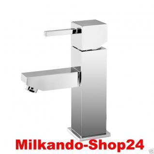 Design Einhandmischer Bad Badezimmer Wasserhahn Chrom Waschtisch Armatur DN01
