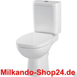 Design Wc Toilette Stand komplett set Spülkasten KERAMIK Inkl.Wc Sitz