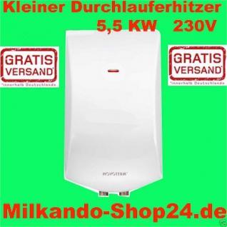 Klein Durchlauferhitzer Untertisch Elektronisch Untertisch und Übertisch 5, 5 Kw