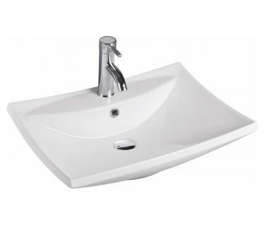 Design Keramik Aufsatzwaschbecken Waschbecken Waschtisch Waschschale Bad Kr 721 - Vorschau
