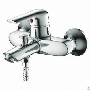 Design Wannenfüller Bad Badezimmer Wasserhahn Chrom Badewanne Armatur MI03