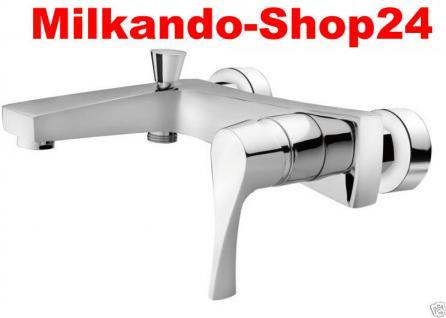 Design Wannenfüller Bad Badezimmer Wasserhahn Chrom Badewanne Armatur SE3 - Vorschau 1