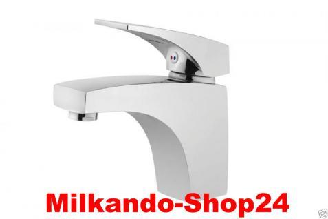Design Einhandmischer Bad Badezimmer Wasserhahn Chrom Waschtisch Armatur AP01