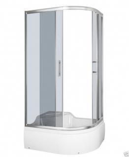 luxus echtglas duschabtrennung duschkabine dusche duschwanne 120 x 80 cm ab kaufen bei. Black Bedroom Furniture Sets. Home Design Ideas