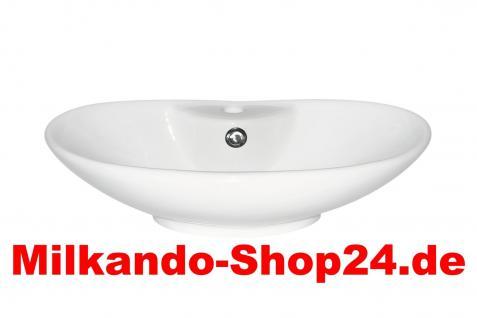 Design Keramik Aufsatzwaschbecken Waschbecken Waschtisch Waschschale wc Bad - Vorschau 1