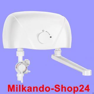 Mini klein - Durchlauferhitzer elektronisch Übertisch inkl. Amatur 3, 5kw - 230V