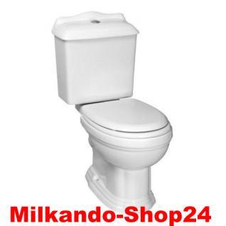Nostalgie Retro Classic Wc Toilette Stand komplett set inkl.Spülkasten KERAMIK - Vorschau 4