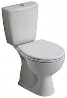 Design Wc Toilette Stand komplett set Spülkasten KERAMIK Inkl.Sitz Senkrecht!!!