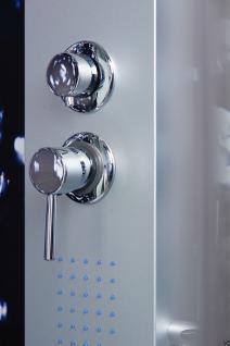 Luxus DUSCHTEMPEL DUSCHKABINE ECHT ESG GLAS ECK Duschabtrennung 100 x 80 cm GR - Vorschau 3