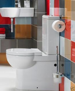 Design Stand Wc komplett set Spülkasten KERAMIK Abfluss:waagerecht / senkrecht - Vorschau 2