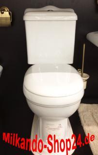 Nostalgie Retro Classic Wc Toilette Stand komplett set inkl.Spülkasten KERAMIK