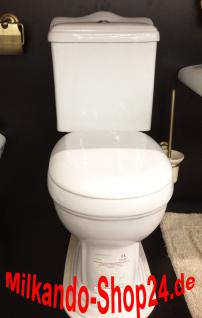 Nostalgie Retro Wc Toilette Stand komplett set inkl.Spülkasten KERAMIK Inkl.Sitz - Vorschau 1