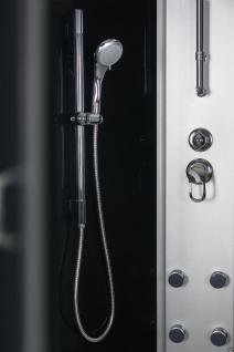 DUSCHTEMPEL FERTIGDUSCHE DUSCHKABINE ECHT GLAS KOMPLETT DUSCHE Wanne 90 cm - Vorschau 4