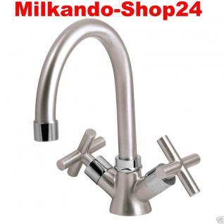 Design Zwei handmischer Bad Badezimmer Wasserhahn Retro Waschtisch Armatur Ca01