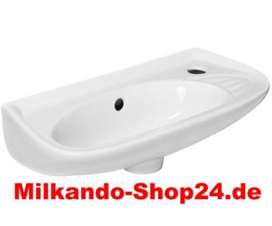 Spülstein Waschbecken MODUL Keramik Handwaschbecken Gäste Wc Badezimmer - Vorschau 1