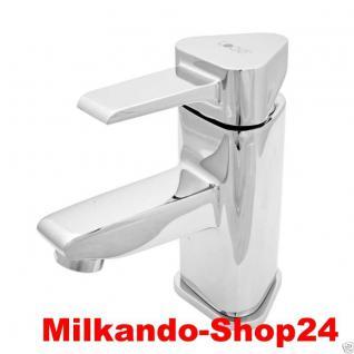 Design Einhandmischer Bad Badezimmer Wasserhahn Chrom Waschtisch Armatur VE01