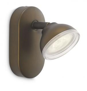 Philips LED Spot Bronze Toscane Wandleuchte Deckenleuchte Leuchte 53240-06-16