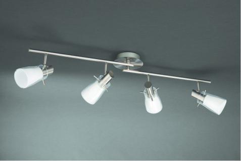 Energiespar Spotbalken 4-flg. Amperi Deckenleuchte Spot Leuchte
