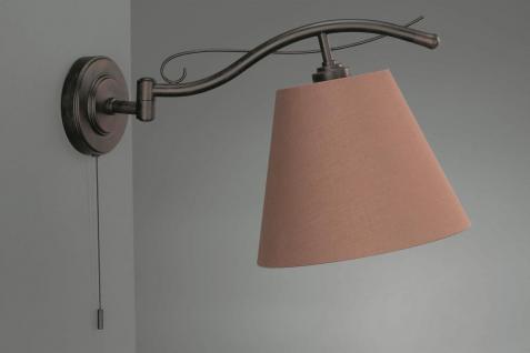 EDWARD Wandleuchte Rustikal Wandlampe Leuchte Zugschalter 37672-86-10