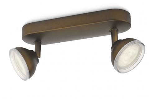 Philips LED Spot Bronze Toscane Spotleiste Deckenleuchte Leuchte 53242-06-16