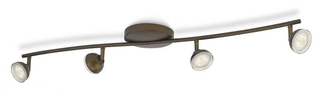 Philips LED Spot Bronze Toscane Spotleiste Deckenleuchte Leuchte 53244-06-16