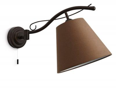 Philips Elmore Wandleuchte Rustikal Wandlampe Leuchte Zugschalter 37672-86-16