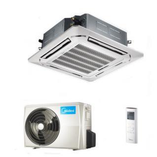 Midea Mono-Split Innen-/Außeneinheit, Deckenkassette MCDE-70IU/MOUE-70K, 7, 0 kW K/H Inverter