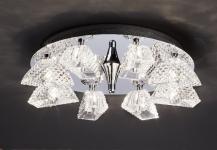 Bankamp Deckenleuchte Classic Modern Kristall Design Deckenlampe 7584/8-08