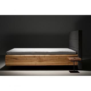MAZZIVO Designerbett BOXSPRING Eiche Sale Bett 160x200cm Massivholz UVP 2249, 01 - Holzbett - Vorschau 4