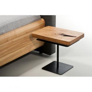 MAZZIVO Designerbett BOXSPRING Eiche Sale Bett 160x200cm Massivholz UVP 2249, 01 - Holzbett - Vorschau 5