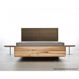 MAZZIVO Designerbett BOXSPRING Eiche Sale Bett 160x200cm Massivholz UVP 2249, 01 - Holzbett - Vorschau 3